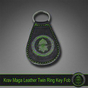 krav-maga-leather-keyfob