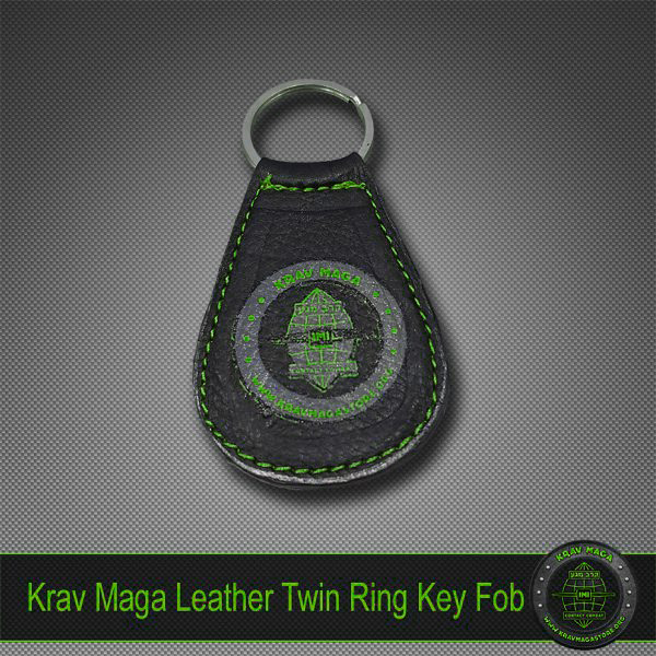 krav-maga-leather-keyfob