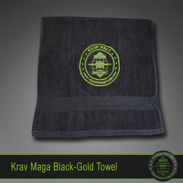 krav-maga-blackgold-towel